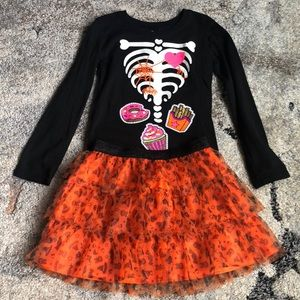 Other - Halloween 2 piece outfit. Shirt glows in dark